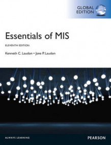 Essentials of MIS with MyMISLab, Global Edition av Jane P. Laudon og Kenneth C. Laudon (Blandet mediaprodukt)
