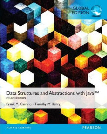 Data Structures and Abstractions with Java av Timothy D. Henry og Frank M. Carrano (Blandet mediaprodukt)
