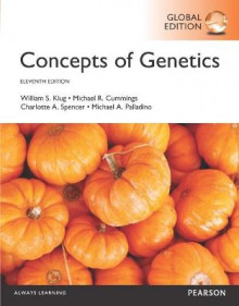 Concepts of Genetics with Masteringgenetics av Michael A. Palladino, Charlotte A. Spencer, Michael R. Cummings og William S. Klug (Blandet mediaprodukt)