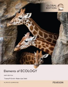Elements of Ecology with MasteringBiology, Global Edition av Robert Leo Smith og Thomas M. Smith (Blandet mediaprodukt)