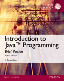 Intro to Java Programming, Brief Version, Global Edition av Y. Daniel Liang (Blandet mediaprodukt)
