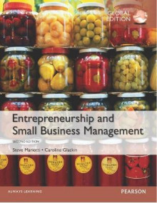 Entrepreneurship and Small Business Management av Steve Mariotti og Caroline Glackin (Heftet)