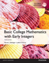 Omslag - Basic College Mathematics with Early Integers OLP with eText, Global Edition