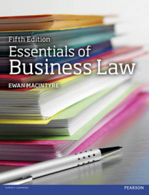 Essentials of Business Law av Ewan MacIntyre (Heftet)