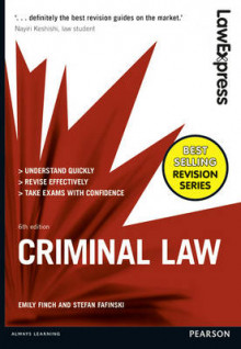 Law Express: Criminal Law av Emily Finch og Stefan Fafinski (Heftet)