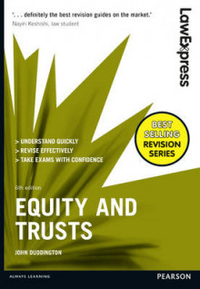 Law Express: Equity and Trusts av John Duddington (Heftet)
