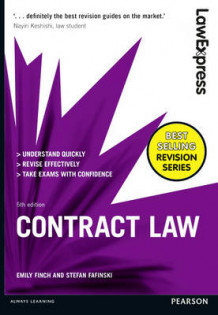 Law Express: Contract Law av Emily Finch og Stefan Fafinski (Heftet)