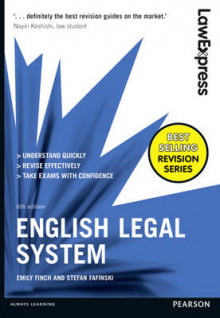 Law Express: English Legal System av Emily Finch og Stefan Fafinski (Heftet)