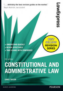 Law Express: Constitutional and Administrative Law av Chris Taylor (Heftet)