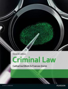 Criminal Law av Catherine Elliott og Frances Quinn (Heftet)