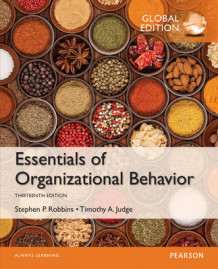 Essentials of Organizational Behavior, Global Edition av Stephen P. Robbins og Timothy A. Judge (Heftet)