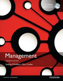 Management, Global Edition av Mary A. Coulter og Stephen P. Robbins (Heftet)