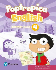Poptropica English Level 4 Activity Book av Fiona Beddall og Laura Miller (Heftet)