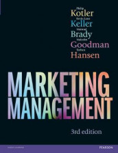 Marketing Management 3rd edn av Mairead Brady, Malcolm Goodman, Torben Hansen, Kevin Lane Keller og Philip Kotler (Innbundet)