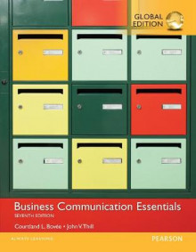 Business Communication Essentials with MyBCommLab, Global Edition av Courtland L. Bovee og John V. Thill (Blandet mediaprodukt)