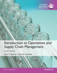Introduction to Operations and Supply Chain Management with MyOMLab, Global Edition av Cecil B. Bozarth og Robert B. Handfield (Blandet mediaprodukt)