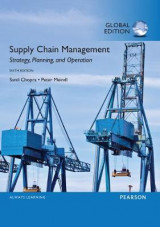Omslag - Supply Chain Management: Strategy, Planning, and Operation