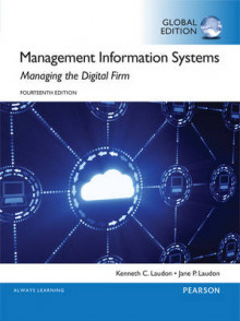 Management Information Systems with MyMISLab, Global Edition av Kenneth C. Laudon og Jane P. Laudon (Blandet mediaprodukt)