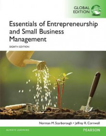 Essentials of Entrepreneurship and Small Business Management, Global Edition av Norman M. Scarborough og Jeffrey R. Cornwall (Heftet)
