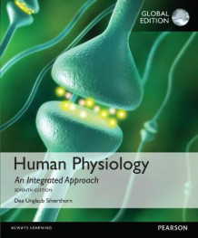 Human Physiology: An Integrated Approach with MasteringA&P av Dee Unglaub Silverthorn (Blandet mediaprodukt)