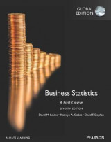 Omslag - Business Statistics:A First Course plus MyStatLab with Pearson eText, Global Edition