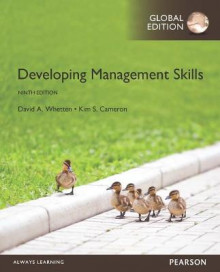 Developing Management Skills, Global Edition av David A. Whetten og Kim S. Cameron (Heftet)