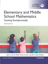 Omslag - Elementary and Middle School Mathematics: Teaching Developmentally, Global Edition