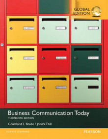 Business Communication Today av Courtland L. Bovee og John V. Thill (Heftet)