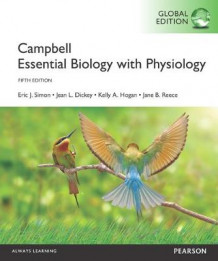 Campbell Essential Biology with Physiology av Eric J. Simon, Jean L. Dickey, Jane B. Reece og Kelly A. Hogan (Heftet)