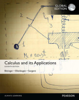 Omslag - Calculus And Its Applications with MyMathLab, Global Edition