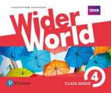 Omslag - Wider World 4 Class