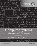 Omslag - Computer Systems: A Programmer's Perspective with MasteringEngineering