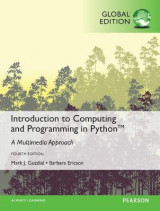 Omslag - Introduction to Computing and Programming in Python with MyProgrammingLab