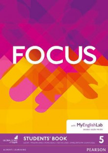 Focus BrE 5 Students' Book & MyEnglishLab Pack av Vaughan Jones, Monica Berlis, Heather Jones, Daniel Brayshaw og Dean Russell (Blandet mediaprodukt)