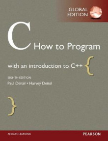 C How to Program with MyProgrammingLab av Paul Deitel og Harvey Deitel (Blandet mediaprodukt)