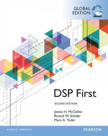 Digital Signal Processing First av James H. McClellan, Ronald W. Schafer og Mark A. Yoder (Heftet)
