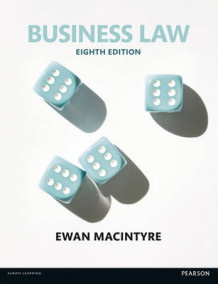 Business Law av Ewan MacIntyre (Heftet)