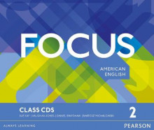 Focus AmE 2 Class CDs av Vaughan Jones, Sue Kay og Daniel Brayshaw (Lydbok-CD)