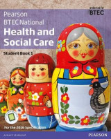 Omslag - BTEC Nationals Health and Social Care: Student Book 1 + Activebook