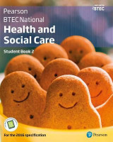 Omslag - BTEC Nationals Health and Social Care: Student Book 2 + Activebook