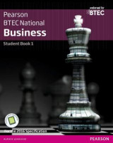 Omslag - BTEC Nationals Business: Student Book + Activebook 1