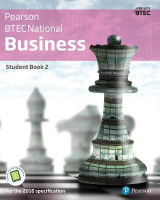 Omslag - BTEC Nationals Business: Student Book + Activebook 2