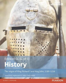 Edexcel GCSE (9-1) History the Reigns of King Richard I and King John, 1189-1216 Student Book av Sarah Moffatt (Heftet)