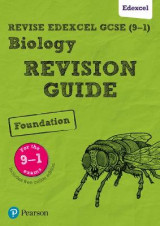 Omslag - REVISE Edexcel GCSE (9-1) Biology Foundation Revision Guide: Foundation