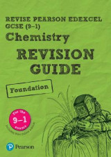 Omslag - REVISE Edexcel GCSE (9-1) Chemistry Foundation Revision Guide