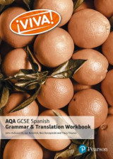 Omslag - Viva! AQA GCSE Spanish Grammar and Translation Workbook