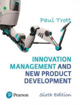 Omslag - Innovation Management and New Product Development