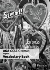 Omslag - Stimmt! AQA GCSE German Higher Vocab Book Pack