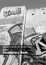 Omslag - Stimmt! Edexcel GCSE German Higher Vocab Book (pack of 8)