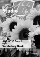 Omslag - Studio AQA GCSE French Higher Vocab Book Pack